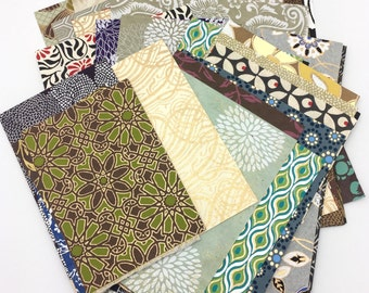 Scrap Pack, 3 oz Decorative Papers for Collage, Book Arts, Scrapbooking and Craft Projects