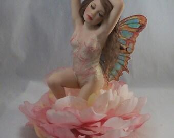 Ooak Fairy Fae Faery - RESERVED for Natalie Z