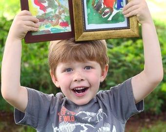 "Mystery Art 4""x6"" Mini Watercolor Painting by Finn – Fundraising for Finn's Kitten Care"