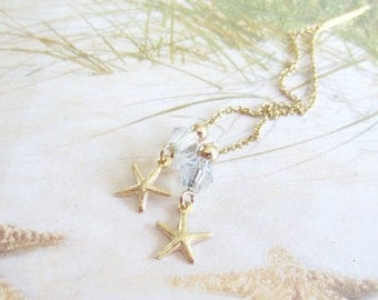 Gold Threaders-Starfish-Sea Stars-Gold Filled