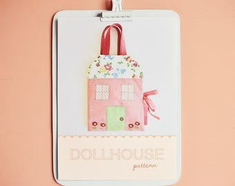 dollhouse pdf pattern/tutorial