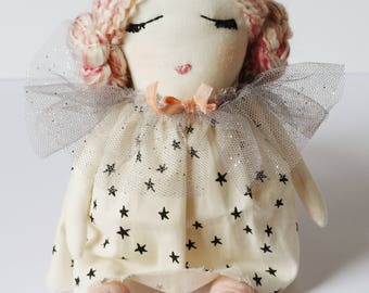 Pink Hair, Don't Care MaeBeSew Doll