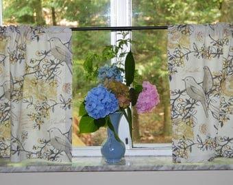 Bird Curtains . Kitchen Cafe Curtains . Richloom Bird Curtains . Kitchen  Tiers . Retro Curtains