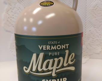 100 percent Pure Vermont Maple Syrup 1/2 gallon/ Organic