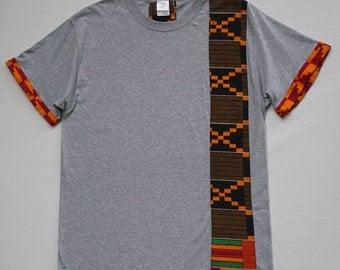African Print T shirt, Wax Print T shirt, Ankara shirt