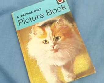 Vintage Ladybird Book A First Picture Book - Early Learning Series 704 - Matt Covers