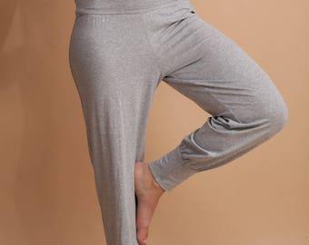 PATRON PDF pour un pantalon de yoga femme en FRANÇAIS - 34-52 (eu)  6-24 (us) and 8-26 (uk)