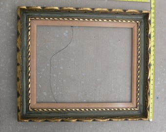 23x28 Vintage wood picture frame