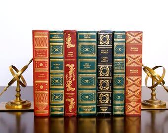 International Collectors Library Book Set / Library Decor / Book Decor