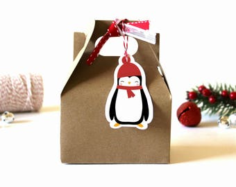 Christmas Gift Tags - (Set of 10) - Christmas Tags, Gift Tags, Holiday Gift Tags, Xmas Tags, Christmas Wrapping, Gift Wrap, Present Tags