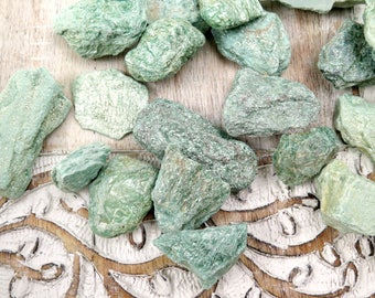 Fuchsite Raw Chunks / Rough Fuchsite / Reiki