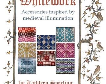 Whitework (eBook, PDF): Accessories inspired by medieval illumination