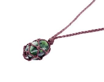 Nephrite Jade Necklace, Jade Necklace, Jade Nephrite, Healing Crystal Necklace, Nephrite Jade Jewelry, Hemp Necklace