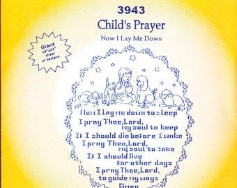 Aunt Martha's Hot Iron Transfers 3943, Child's Prayer