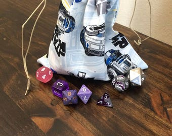 R2D2 Dice Bag, Star Wars, Dungeons and Dragons, D&D, DnD