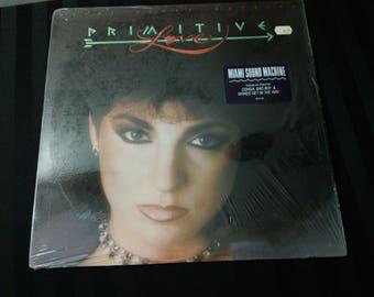"""Miami Sound Machine - Primitive Love - FE 40131 - 12"""" vinyl lp, album (Epic Records,1985)"""