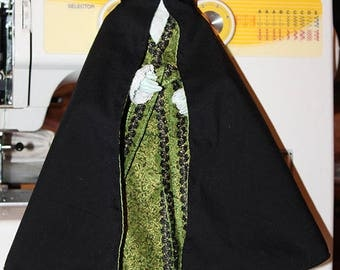 Cloak with a hood  for 1/6 doll