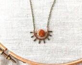 SALE - SUN Necklace