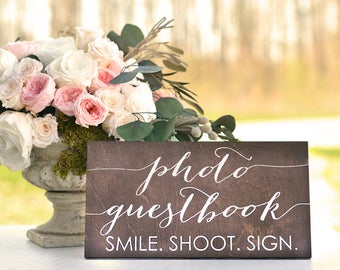 Photo Guest Book Sign, Photo Guestbook Sign, Photobooth Guest book, Wedding Photo Guestbook, Wedding Photo Guest book Sign, instant photo