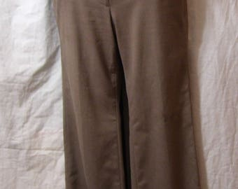 Ann Taylor pants, slacks, Taupe Brown, Size 2 Petite, Professional , School, Casual, Year Round wear