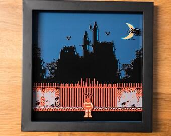 Castlevania - NES Shadowbox