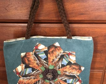 Dresden Plate Tote