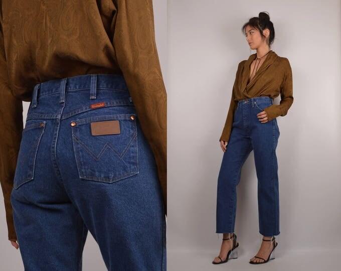 Vintage Wrangler Cropped Jeans