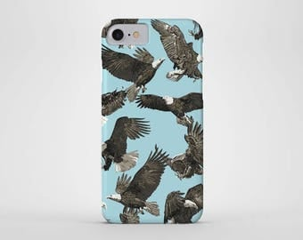 Bald Eagle Phone Case - iPhone and Samsung Galaxy Cases - American Bald Eagle, Birds, (All Sizes)