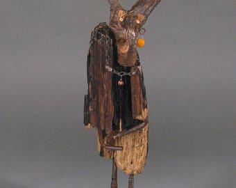 Driftwood Sculpture, Wood Sculpture - Marcel