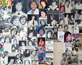 PARKER STEVENSON ~ The Hardy Boys, Falcon Crest, Baywatch, Frank Hardy ~ Color and B&W Clippings from 1977-1979