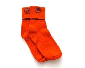 80s Florida Gators Socks Orange Blue Fuzzy Cuffed University of Florida