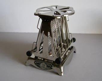 """Antique Westinghouse """"Turn Over"""" Copeman Electric Toaster, C 1914"""