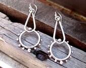 Small Drop Earrings - Dangle Earrings- Boho Earrings - Beach Earrings - Tribal Earrings - Drop Earrings - Lightweight Earrings - Scholar