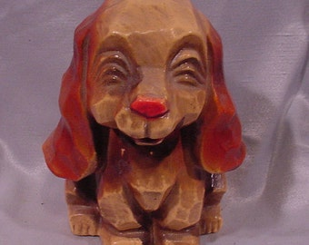 Adorable Pooch Dog Shaped Bank Vintage Plastic Good Fun