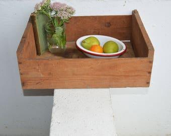 Pacific Fruit Exchange Wood Pine Box/Crate