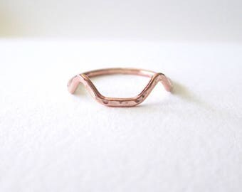 Rose Gold Cat Ears Ring - Cat Ears Ring, Cat Ring, Cat Jewelry, Cat Lover Gift, Best Friend Ring, Rose Gold Ring, Pet Memorial, Kitty Ring