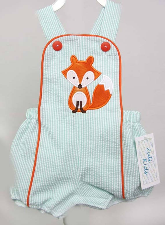 Woodland Creatures Clothing Fox Outfit Baby Boy Clothes