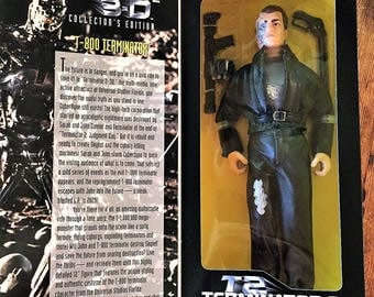 Kenner 1997 Terminator 2 3-D Collector's Edition T-800 Terminator MIB