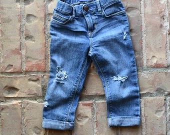 18-24M Distressed Jeans