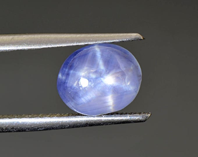 Beautiful Blue Star Sapphire Cabochon from Sri Lanka 3.40 cts