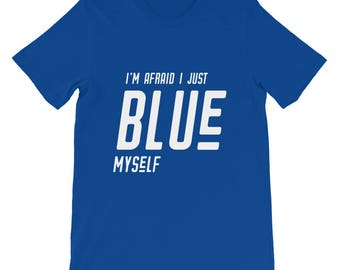 "Arrested Development ""I Just Blue Myself"" Tobias Funke Short-Sleeve Unisex T-Shirt Funny TV Pop-Culture"