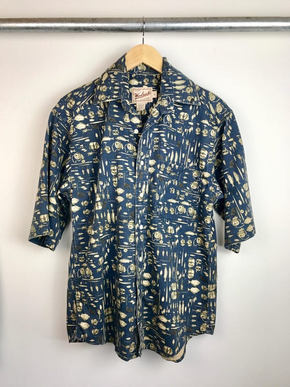 Vintage Men's Woolrich Fisherman's Shirt