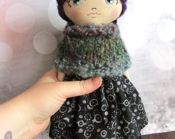 "Crescent Moon Doll ""Moon Child"""
