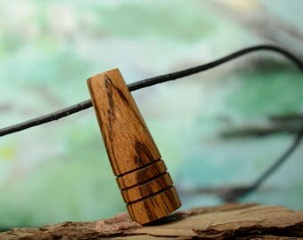 unique wooden necklace, wood jewelry, men's gift