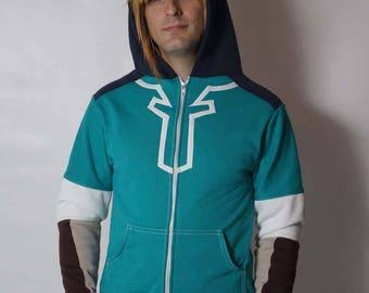 Link Breath of the Wild BoTW Cosplay Costume Hoodie Jacket