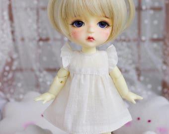 """Lati Yellow/Pukifee - """"Dreamy Blossom"""" WingDress - BasicWhite"""