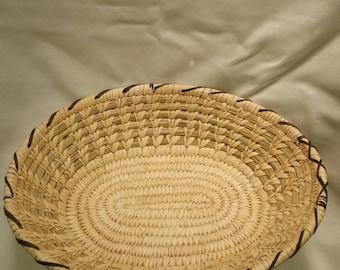 Papago Basket, Tohono Oodham, Arizona Basket, Vintage Baskets, Indian Basket, Rare Vintage Basket, Hand Woven Baskets, Yucca Basket