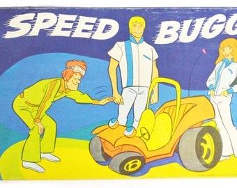 Vintage 70s Speed Buggy Hannah-Barbera Board Game Complete