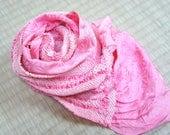 Vintage pink obiage, ligh...
