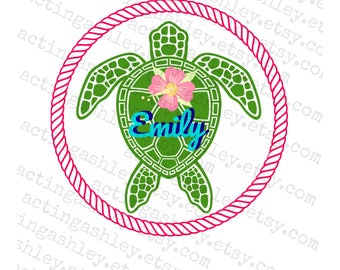 Personalized Sea Turtle Cruise Door Magnet